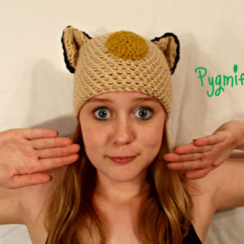 Crochet Meowth Inspired Pokemon Hat