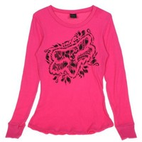 Fox Racing Juniors Foxy Thermal (Large, Fuchsia)