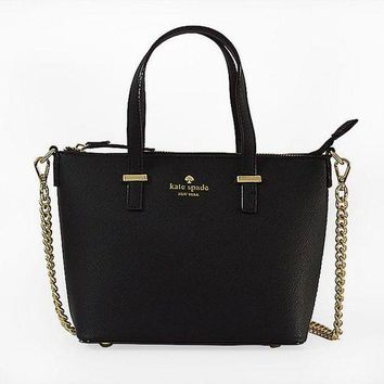 DCCKXT7 Kate Spade' Women Simple All-match Fashion Metal Chain Single Shoulder Messenger Bag Handbag