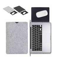 "11"" 12"" 13"" 14"" 15 inch Wool Felt Notebook Laptop Sleeve Bag case For apple Macbook Air 11"" 13"" Pro13"" 15"" Retina12"" 13"" 15"""