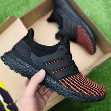 51b73e27c0ef3 Adidas Ultra Boost UB 4.0 Tide brand men s and women s casual ru. Shoes ...