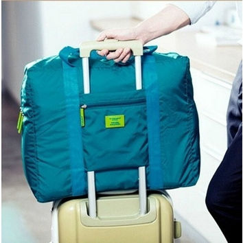Waterproof Nylon Folding Travel Bag Male Lady Travel Luggage Clothes Sorting Storage Bag [8833930956]