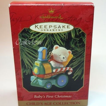 Hallmark 1999 Baby's First Christmas Child's Age