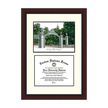 Campus Images University of California, Berkeley Legacy Scholar Frame