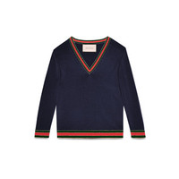 Gucci Merino wool knitted top