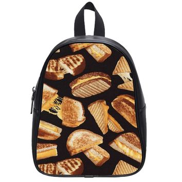 Grilled Cheese Sandwich School Backpack Large