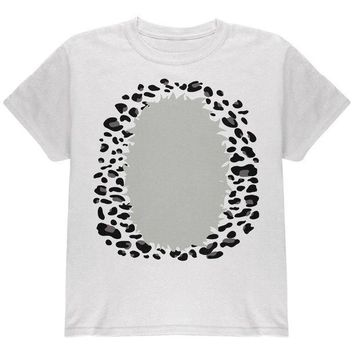 CREYCY8 Halloween Snow Leopard Costume Youth T Shirt