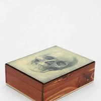 Magical Thinking Skull Box- White One