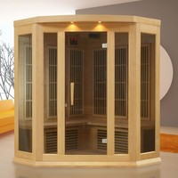 Dynamic MX-K356 3-Person Corner FAR Infrared Sauna