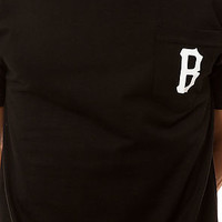 The Poche B Logo in Black