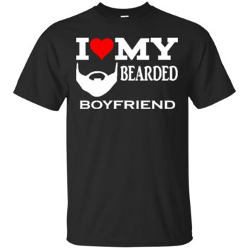 I Love My Bearded Boyfriend Great Gift For Any Girlfriend Of A Bearded Man 1418