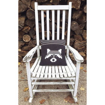 Woodland Coon Accent Pillow