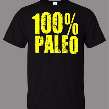 Newest Style 3D Printed Men Design Tops 100% Paleo T-Shirt - New christian Tee Shirt Men Brand Printed 100% Cotton T shirt