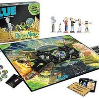 USAopoly Rick & Morty CLUE Board Game and NEW