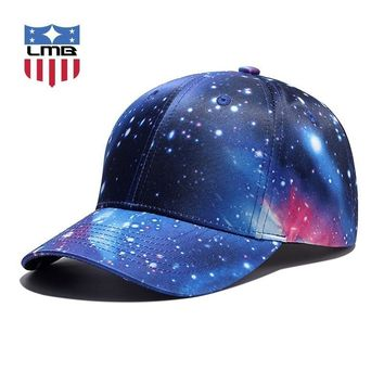 Trendy Winter Jacket LMB Space Three-dimensional Printing Curved Outdoor Unisex Cap Female Summer Hats Snapback Casual Women Hat Men Baseball Caps AT_92_12