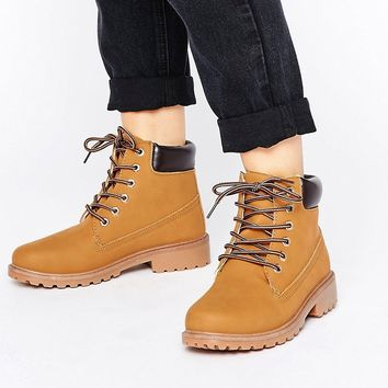 Boohoo Worker Boot