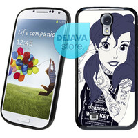 Ariel The Little Mermaid Tattoo Samsung Galaxy S4 Case