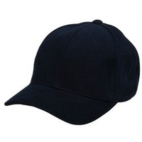 Ladies Brushed caps-Navy