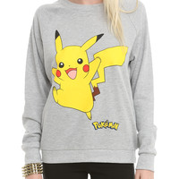 Pokemon Pikachu Jump Girls Pullover Top