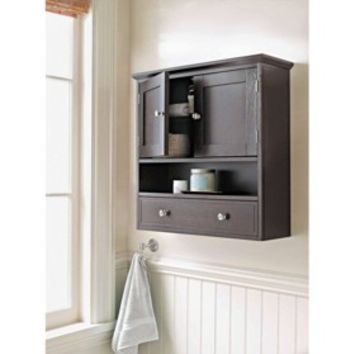 Threshold™ Bridewater Luxury Wall Cabinet - Espresso