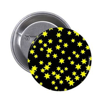 Yellow Stars Button