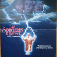 Original Vintage Movie Poster The Witches of Eastwick  1987