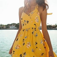 UO Pippa Halter Mini Dress | Urban Outfitters
