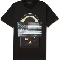 PRODUCT - Givenchy - Printed Cotton-Jersey T-shirt - 399238 | MR PORTER