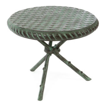 MacKenzie-Childs Tripod Accent Table