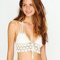 Lisa Maree Free People Clothing Boutique > Daisy Crochet Bikini Top