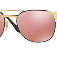 Ray Ban RB3429M 9000Z2 58 58mm Gold Black Copper Flash Mirror