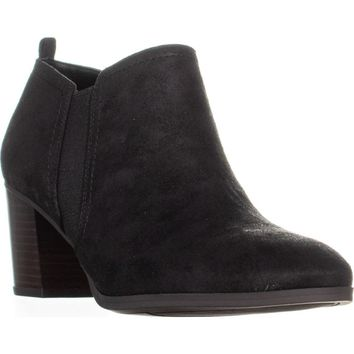 Franco Sarto Barrett Ankle Booties, Black, 10 US / 40 EU