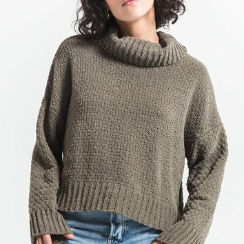 Lucia Cowl Neck Sweater