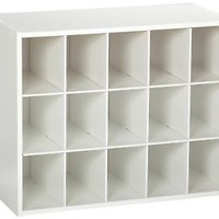 ClosetMaid 15 Cubby Shoe Organizer Accessory Storage Shelf Rack Holder Closet