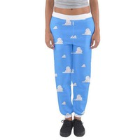Toy Story Cloud Wallpaper Inspired Joggers Sweatpants