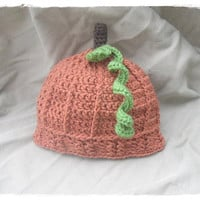 Pumpkin Hat - Toddler - Crochet - Knooked