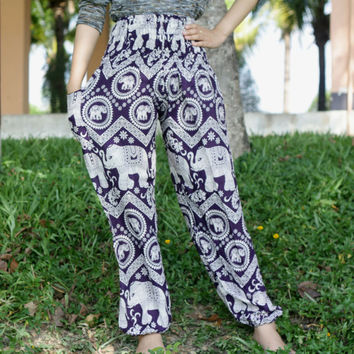 comfy pants Harem pants fisherman pants/Aladdin Pants/baggy pants/bohemin style/hippie pants/jumpsuit uk/Yoga pants/palazzo pants/boho pants