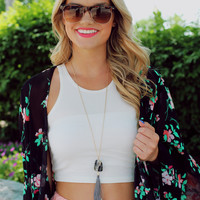 Killin' It Crop Top - Ivory