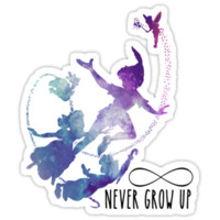 Never Grow Up T-Shirts & Hoodies