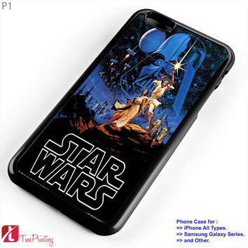 Starwars Clone Wars - Personalized iPhone 7 Case, iPhone 6/6S Plus, 5 5S SE, 7S Plus, Samsung Galaxy S5 S6 S7 S8 Case, and Other