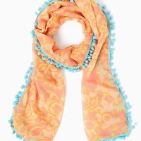 Flirty Floral Scarf | Scarves - Coral | charming charlie