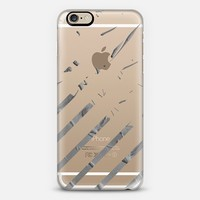 Grayish Stripes iPhone 6 case by Lisa Argyropoulos   Casetify