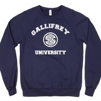 Gallifrey University Doctor Who-Unisex Navy Sweatshirt