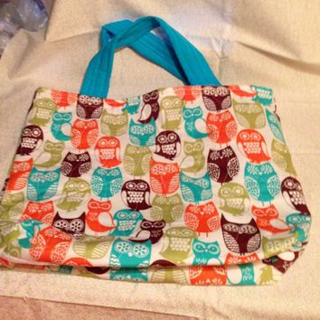 Swedish Owls Tote Bag,Beach Bag, Overnight Bag Extra Large Tote