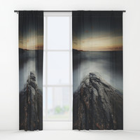 I´m a collider Window Curtains by HappyMelvin