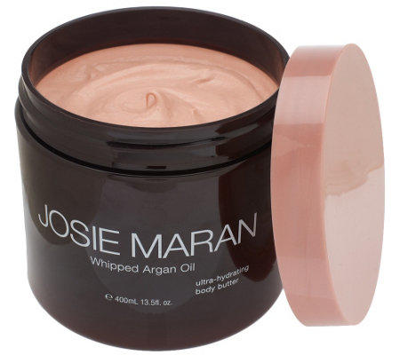 josie maran 13 5 oz deluxe argan whipped from qvc things i want. Black Bedroom Furniture Sets. Home Design Ideas