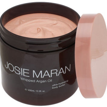 Josie Maran 13.5 oz Deluxe Argan Whipped Illuminizing Body Butter - A253539 — QVC.com