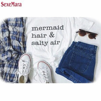 Mermaid hair and Salty Air T Shirt