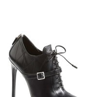 Prada Lace Up Leather Boot (Women)