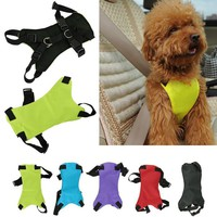Dog Supplies Seat Belt Car Harness Leash Seat 3 Sizes